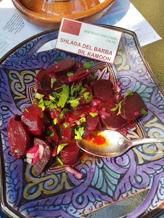 Beetroot and cumin salad