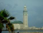 Hussein II mosque in Casablanca