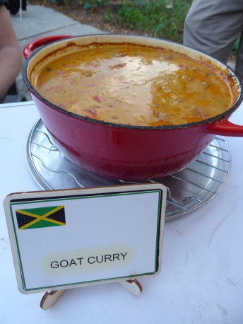 Goat curry - AMAZING!