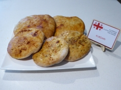 Lamb and onion flatbread