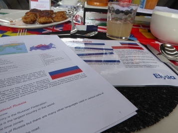 Russian table