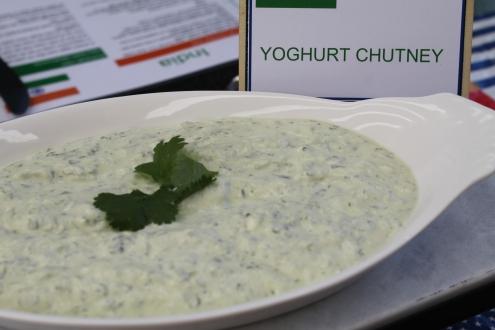 Yoghurt chutney